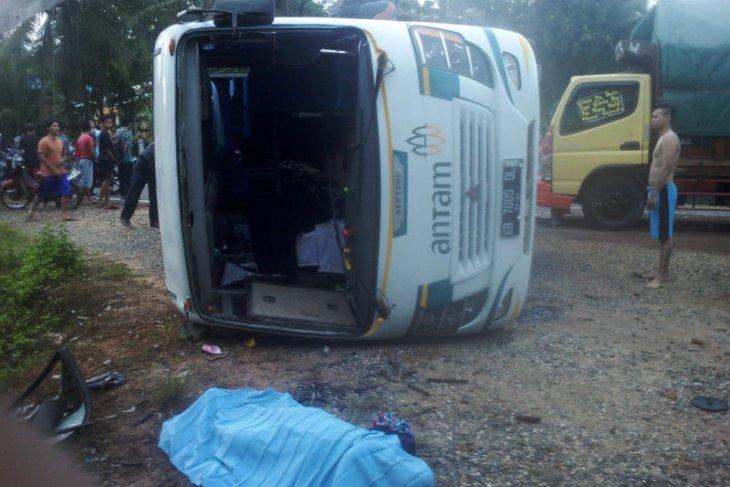 Antam turut berduka atas musibah kecelakaan Bus Sekolah di Tayan