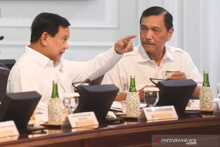 Ministers Subianto, Pandjaitan discuss cooperation plan with Abu Dhabi