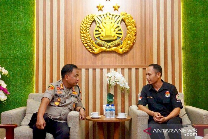 KPU Badung koordinasikan  pengamanan pilkada dengan Polresta Denpasar