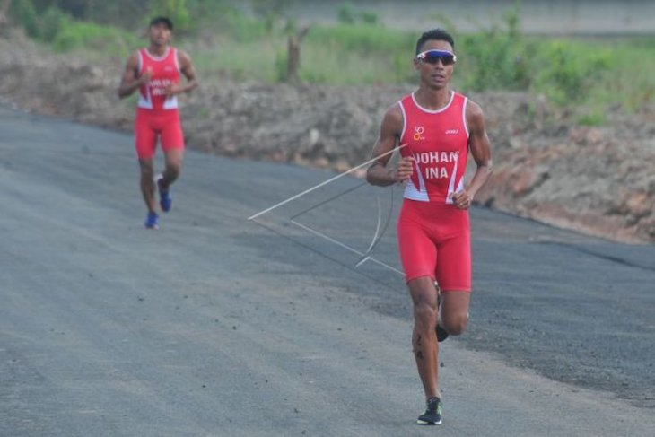 Jauhari Johan bersyukur geluti triathlon