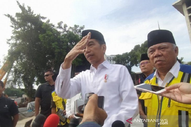 Jaga silaturahmi, Jokowi bangun terowongan bawah tanah dari Istiqlal ke Gereja Katedral