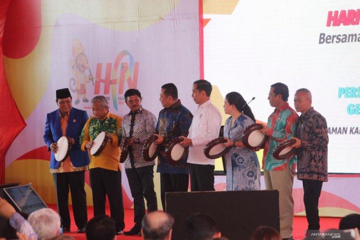 Presiden Jokowi usulkan bangun tol sambungkan Kalsel dan Ibu kota Negara