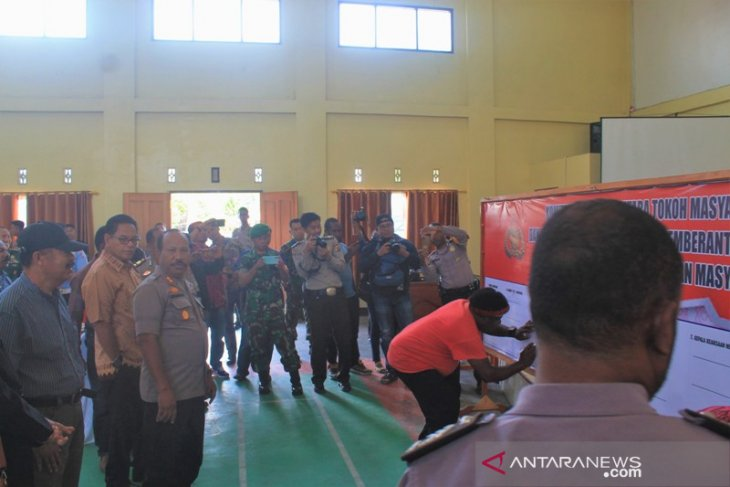Criminal rate in Jayawijaya plunges significantly to 60 percent