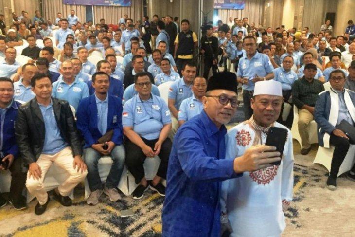 Zulkifli Hasan resmi daftar calon ketum PAN