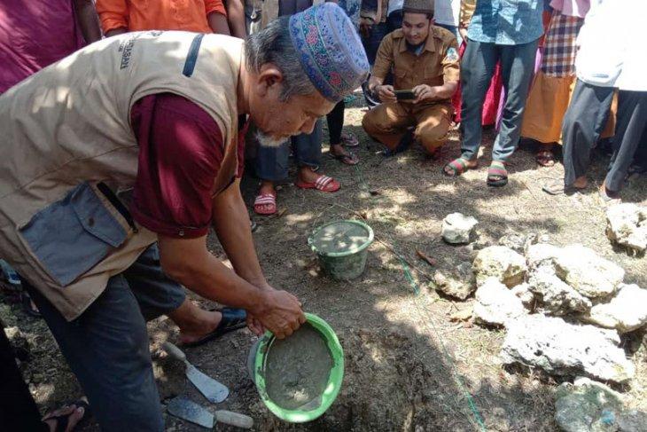 DSI dan dai perbatasan gotong royong di Masjid Aceh Singkil