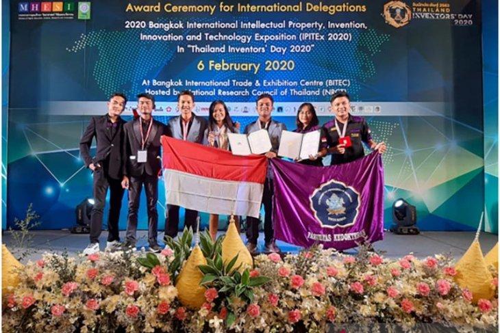 FK dan FMIPA Undiksha raih medali IPITEx di Thailand
