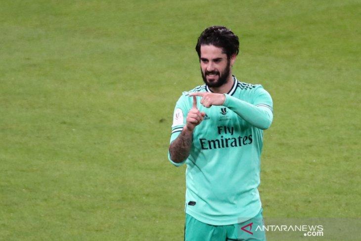 Zidane minta Isco cetak gol lebih banyak untuk Real  Madrid