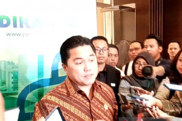 Erick Thohir akui dapat pesanan dua juta masker dari Suning Group