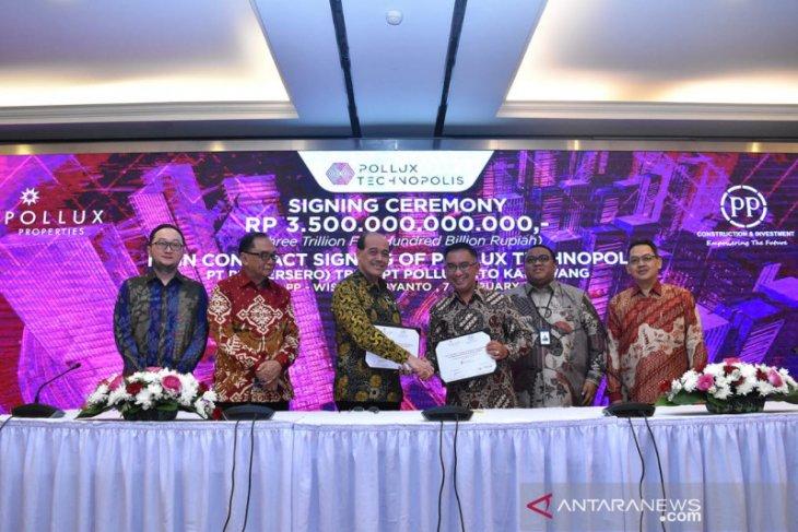 PT PP Tbk menangkan kontrak Rp3,5 Triliun bangun Pollux Technopolis di Karawang