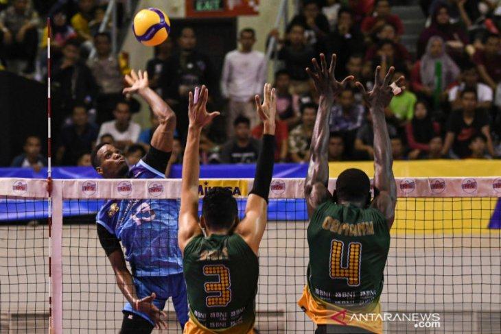 Proliga, Jakarta BNI 46 kalahkan Palembang Bank Sumsel Babel 3-0