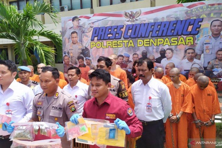 Polresta Denpasar sita ribuan gram narkoba