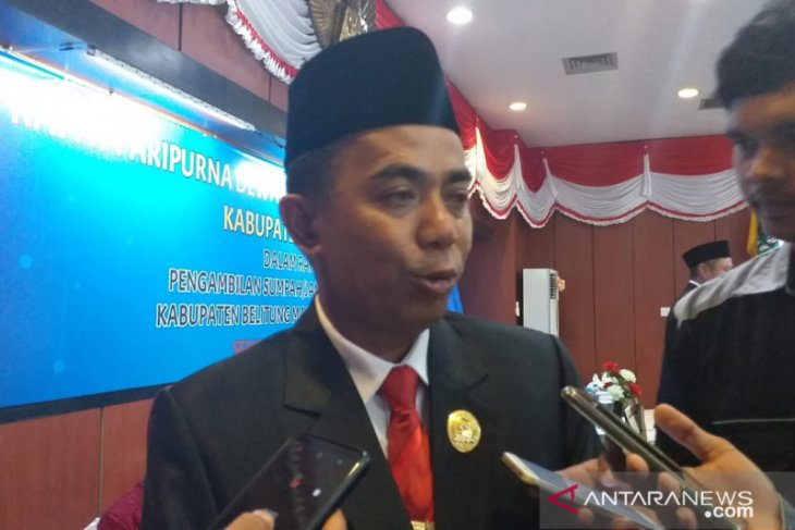 Ketua DPRD Belitung ajak insan pers perangi berita bohong