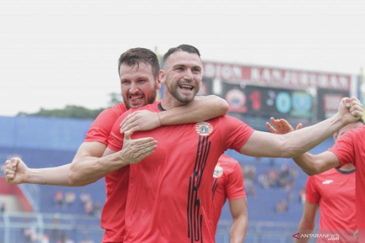 Simic hattrick, Persija bungkam Persela 4-1 di Piala Gubernur Jatim