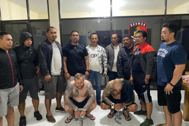 Polda Bali tangkap dua pelaku