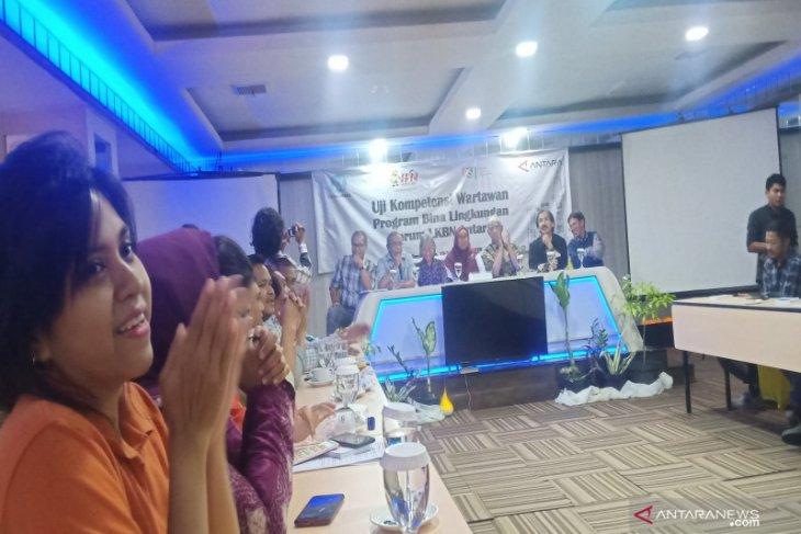 Seluruh peserta  UKW ANTARA dinyatakan kompeten