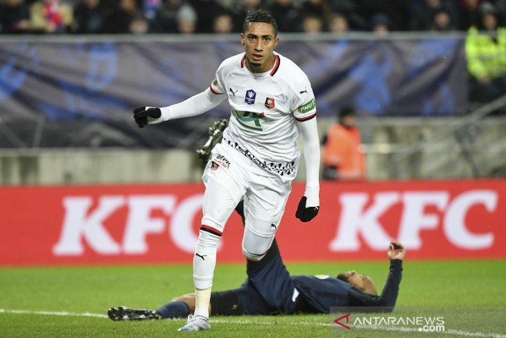 Piala Prancis, Rennes lewati tim kasta keempat menuju semifinal Piala Prancis