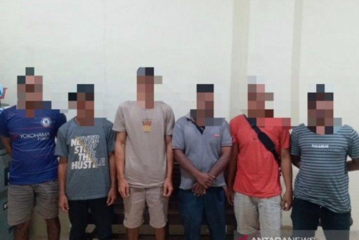 Polisi Aceh tangkap penambang emas ilegal, empat pelaku asal Kapuas Hulu