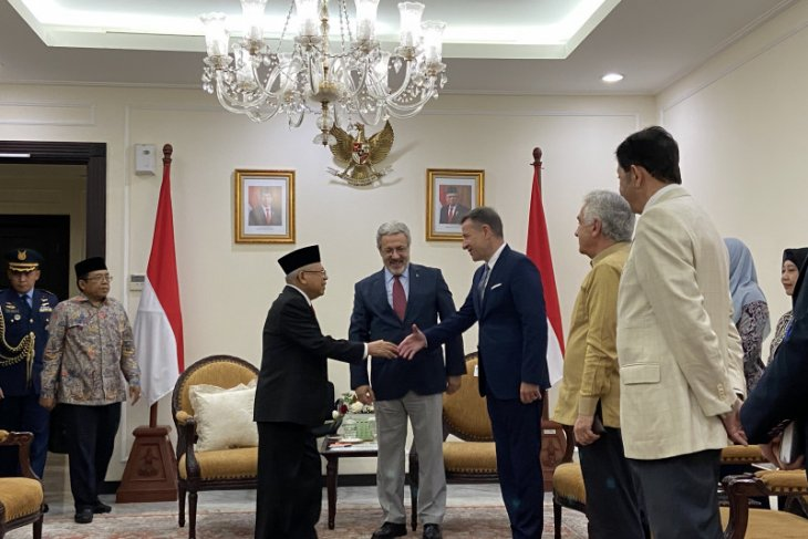 VP Ma'ruf, Turkish envoy discuss campaign for peaceful Islam