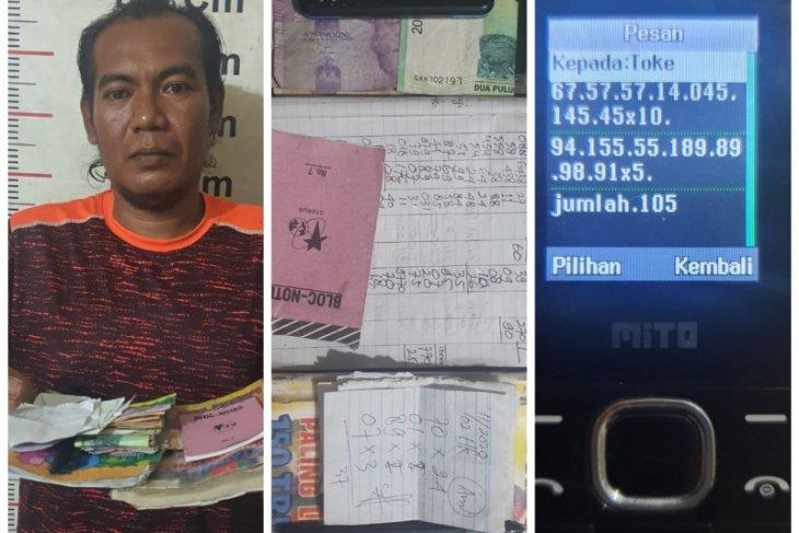 Polisi Stabat tangkap pelaku perjudian togel