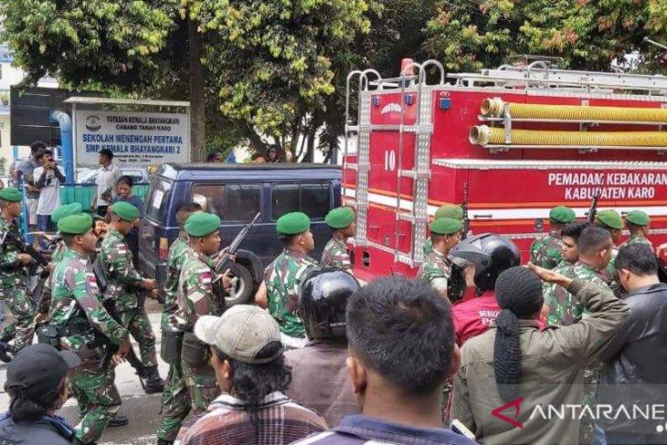 Ricuh Rutan Kabanjahe, Polisi: Tidak ada korban jiwa