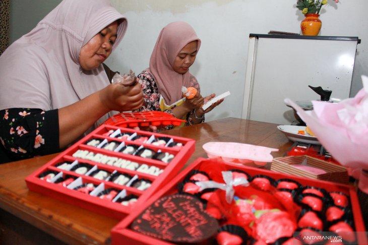 Permintaan cokelat meningkat jelang valentine