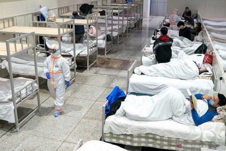 Kamis, kematian corona di Hubei China mencapai  1.310