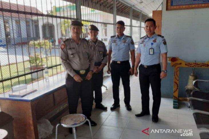 Polres Tanjungbalai patroli Lapas Pulo Simardan