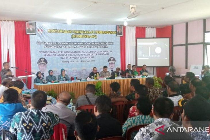 15 desa di Batu Ampar ajukan pembenahan jalan poros
