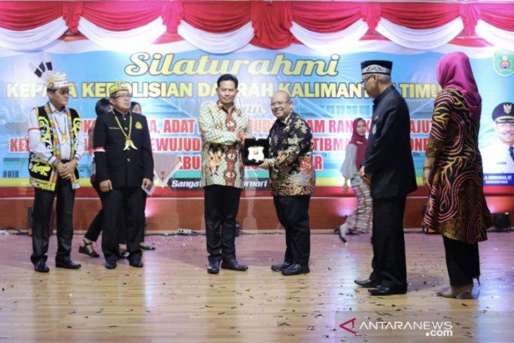 Kapolda Kaltim ajak masyarakat Kutai Timur jaga situasi kondusif