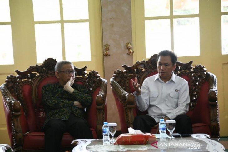 Temui Sutarmidji, BPH Migas komitmen bangun jaringan pipa gas trans Kalimantan