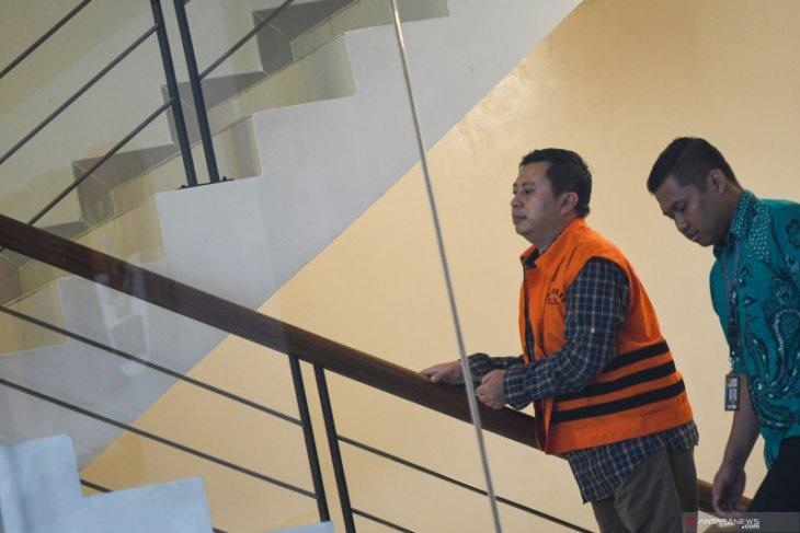 Saeful Bahri sebut uang Rp1,5 miliar untuk lobi komisioner-komisioner KPU