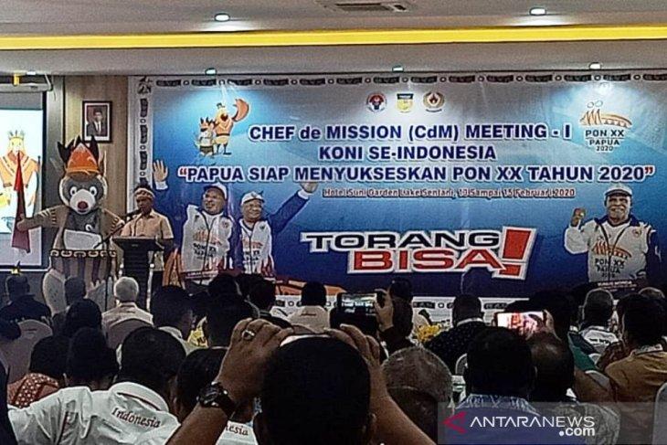Menpora buka CdM Meeting I KONI se-Indonesia di Sentani