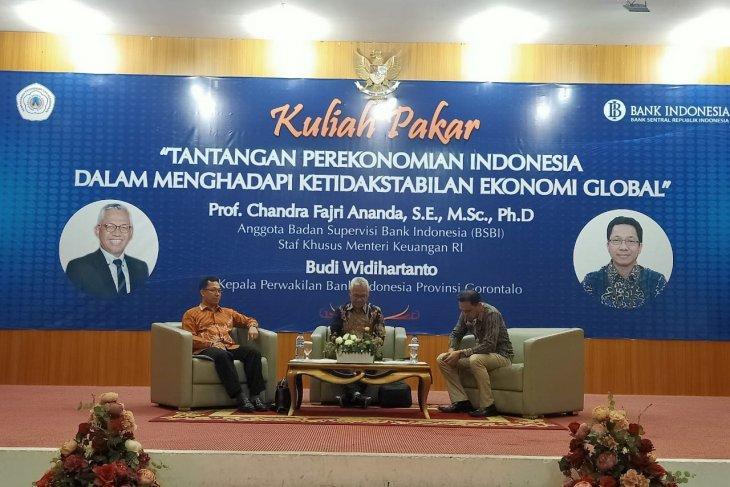 BI Gorontalo gelar kuliah pakar nasional perekonomian Indonesia