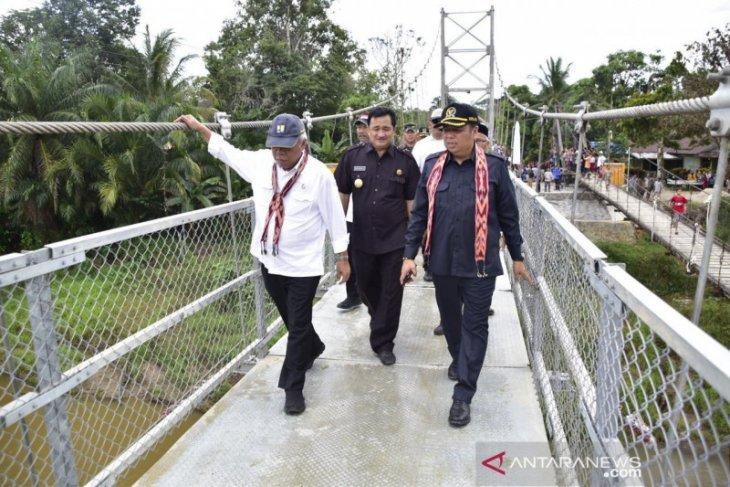 Menteri PUPR : Jalan Badau - Puring Kencana selesai tahun 2021