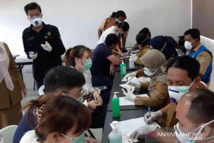 Pesan whatsapp ada pasien di Bekasi terjangkit virus COVID-19 hoax