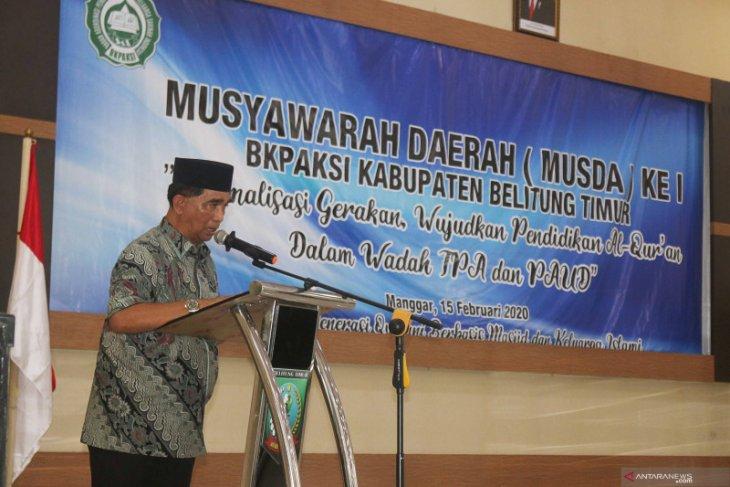 Bupati Belitung Timur ajak masyarakat kawal dana desa