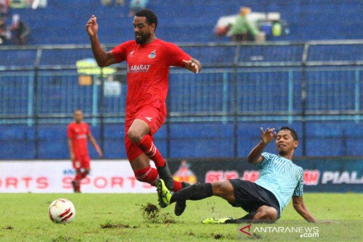 Persela vs Sabah FA imbang 2-2 di laga terakhir Piala Gubernur Jatim