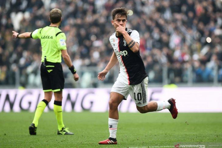Liga Italia, Juve jauhkan diri dari kejaran Inter setelah menang 2-0 atas Brescia