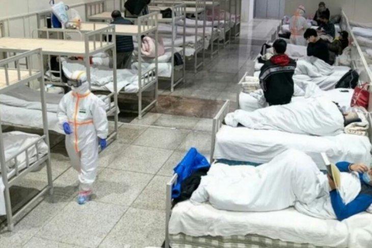 1.933 kasus corona di Hubei dan 100 kematian baru