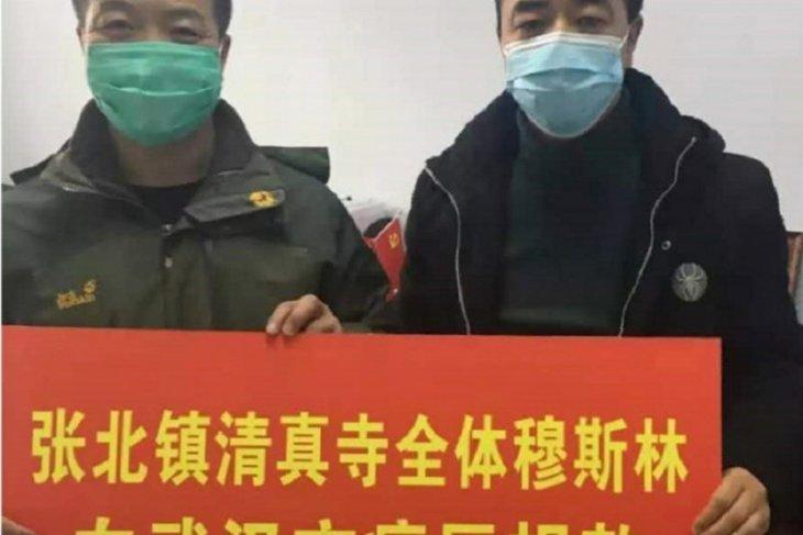 Komunitas muslim Beijing sumbang Rp1,7 miliar penanggulangan virus corona