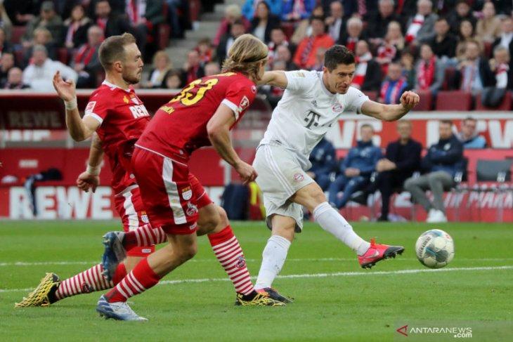 Menang atas Koln bawa Bayern puncaki klasemen Liga Jerman