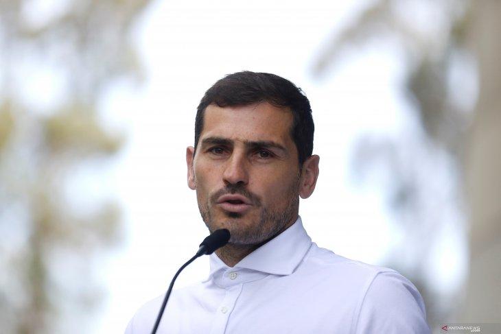 Iker Casillas resmi calonkan diri pimpin sepak bola Spanyol