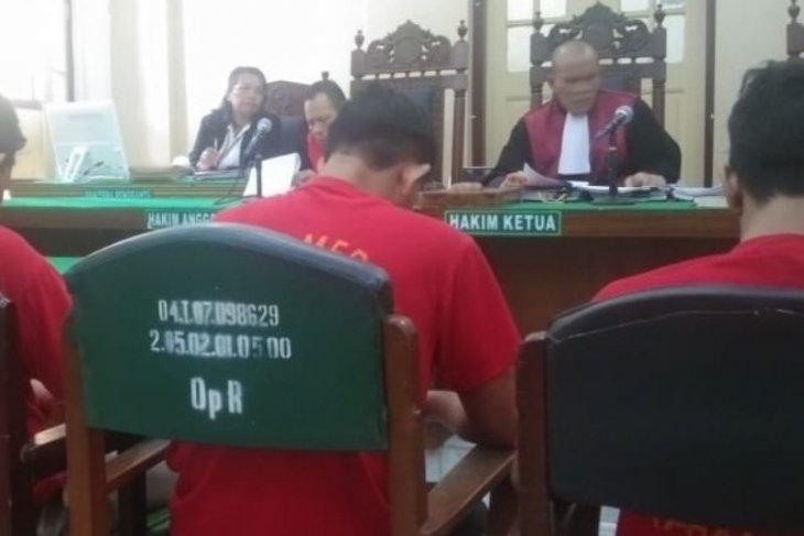PN Medan hukum tiga kurir sabu 12  tahun penjara