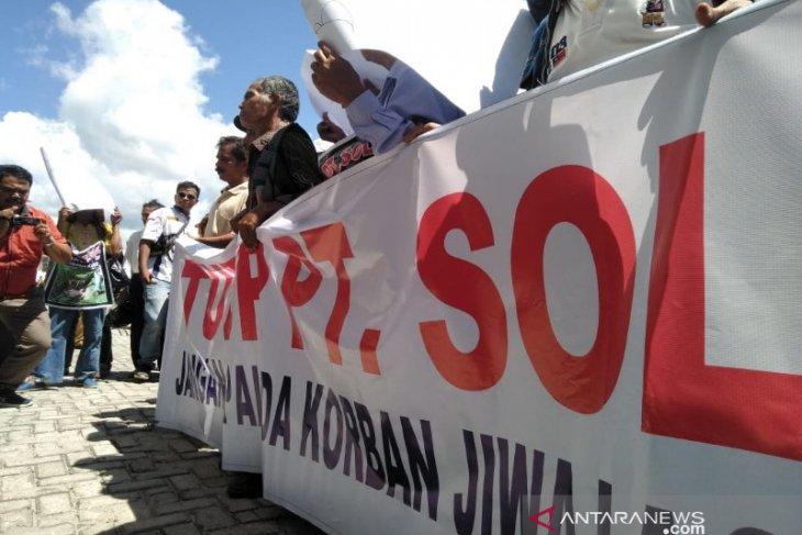 Aktivitas SOL dituding munculkan gas beracun tewaskan warga sulut aksi demo, ini klarifikasinya