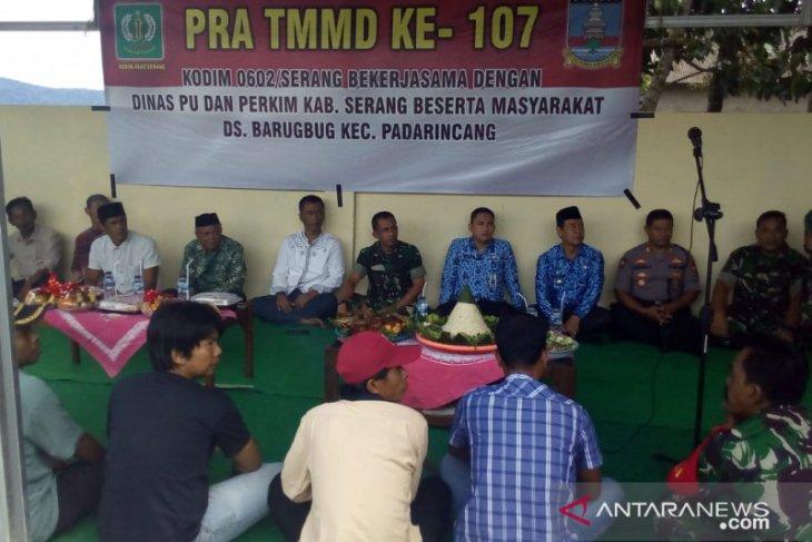 Dandim 0602/Serang buka pra-TMMD di Padarincang