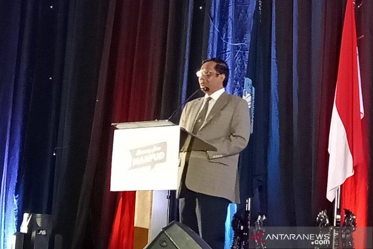 Mahfud MD akui adil dan makmur belum terwujud di Indonesia