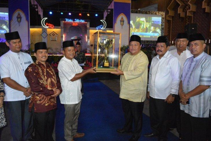 Kecamatan Sibolga Selatan pertahankan juara umum MTQ tahun 2020