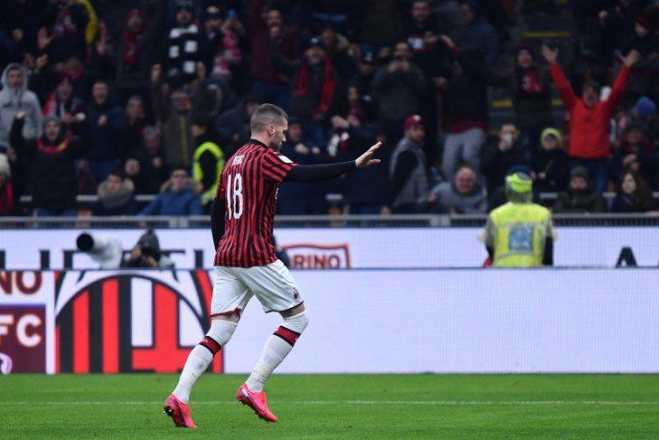 Rebic cetak gol, Milan kalahkan Torino