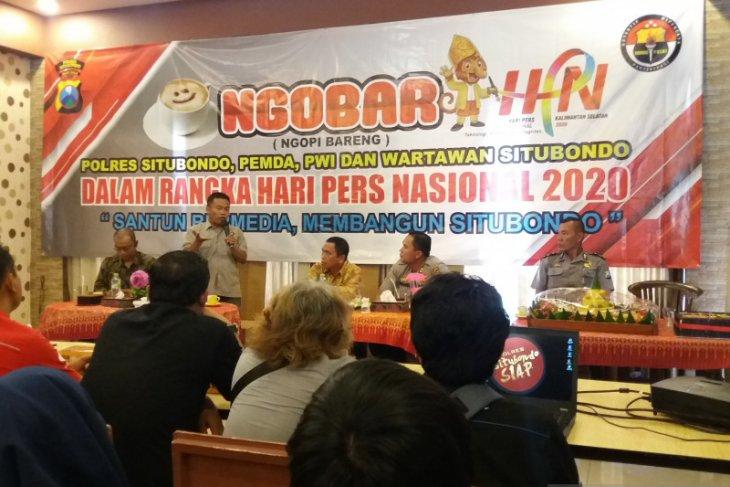 Peringati HPN 2020, Wabup Situbondo ajak jurnalis sajikan informasi menyejukkan