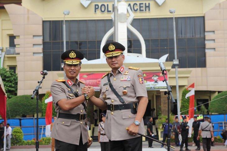 Polda Aceh gelar rangkaian sertijab kapolda